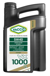 Yacco_VXPremium_5W40