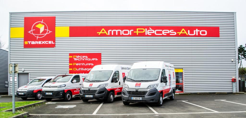 facade Armor Pièces Auto